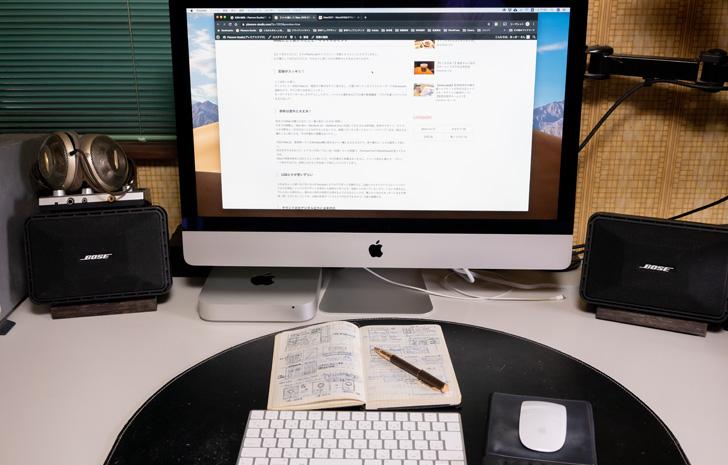iMac 2019 27インチRetina 5Kモデルをついに購入!