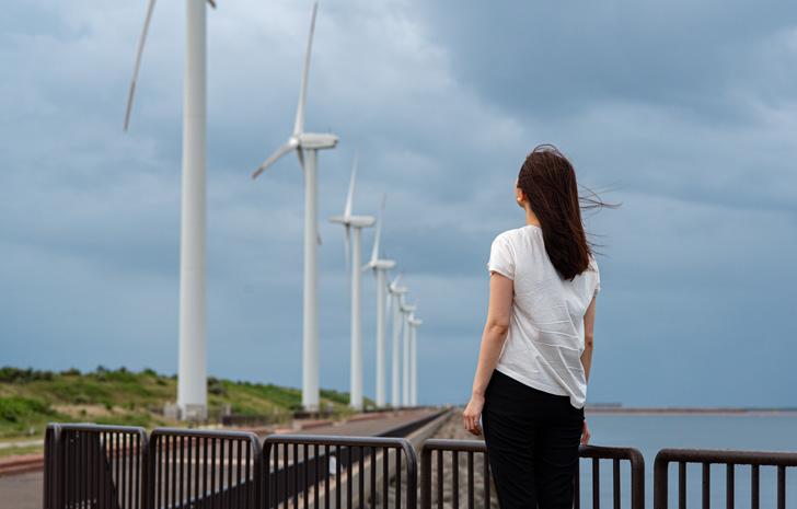 恋するなっちゃん】響灘風力発電とストレス解消