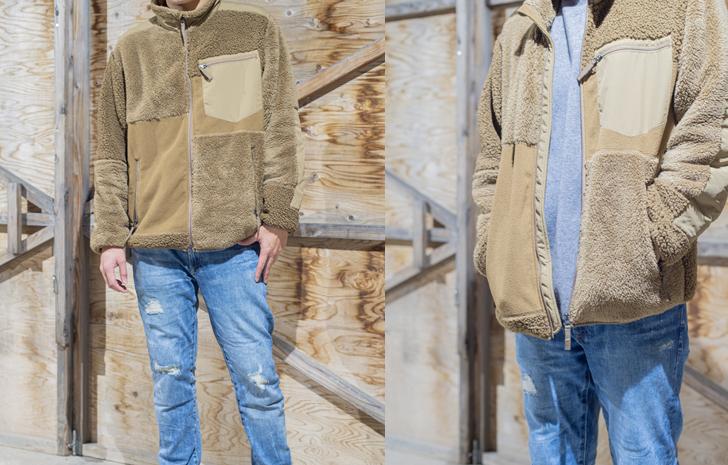 オーバーサイズで着る『UNIQLO フリースコンビネーションジャケット』が買い!