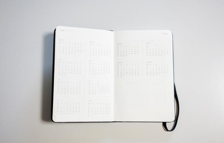 MOLESKINE(モレスキン) 2020ウィークリーダイアリースケジュール+ノート